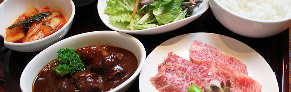 YAKINIKU & MINI BEEF TONGUE STEW PLATTER