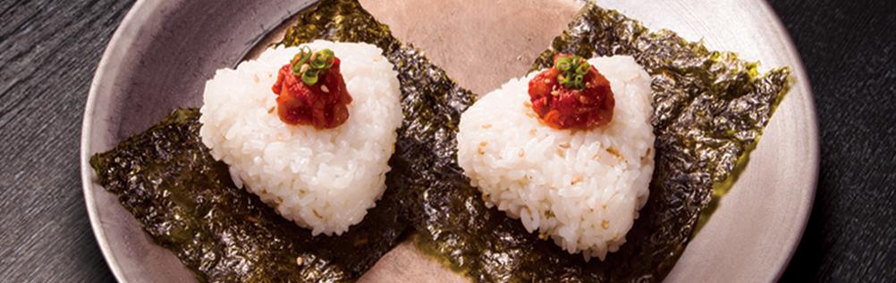生鱼肚饭团(2个)