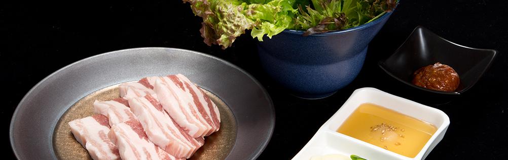五花肉+生菜SET