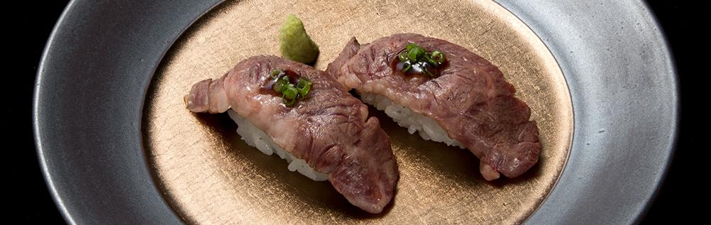 牛肉寿司   2贯